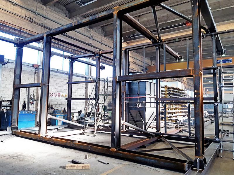 progettazione strutture carpenteria metallica installazione