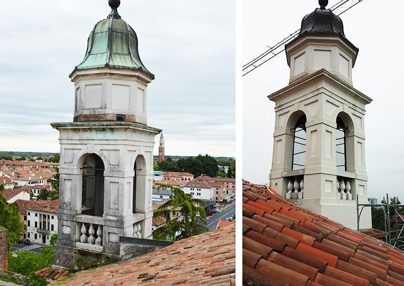 restauro tetto Duomo Castelfranco Veneto