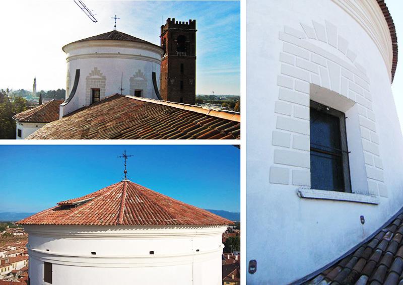 restauro conservativo duomo castelfranco treviso