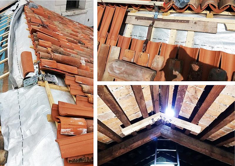 restauro sottotetto duomo castelfranco