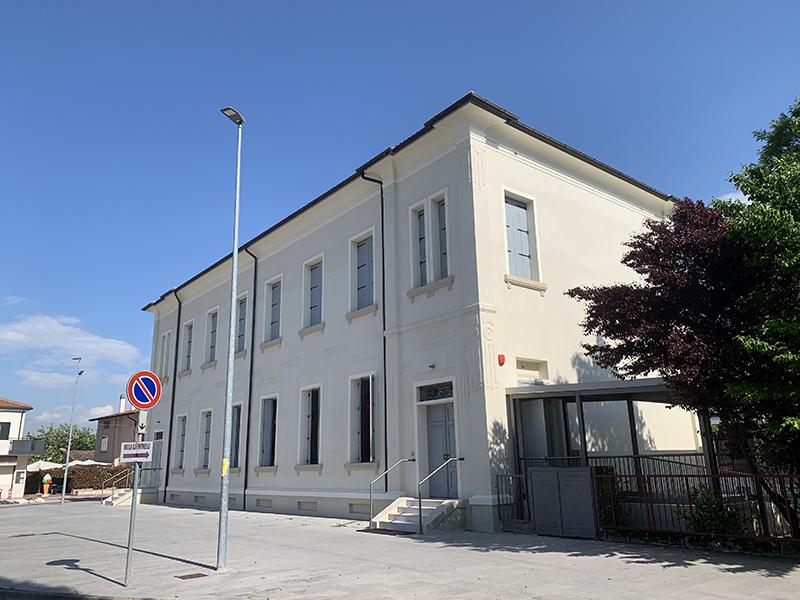 ristrutturazione edificio scolastico treville 2